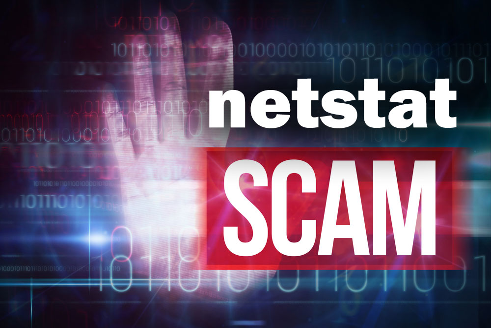 Windows Netstat Used by Scammers